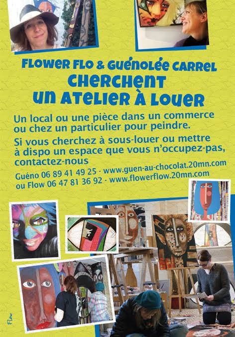 atelier artistes à louer