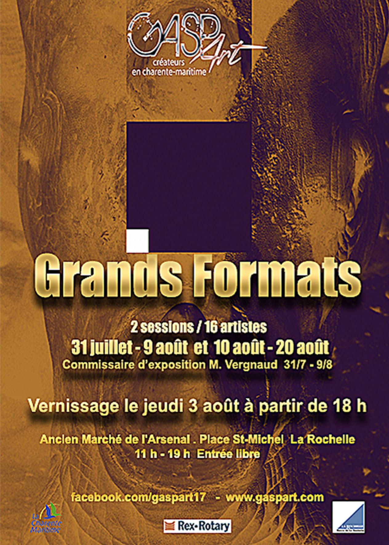 Exposition artistique Grands Formats 2017 La Rochelle