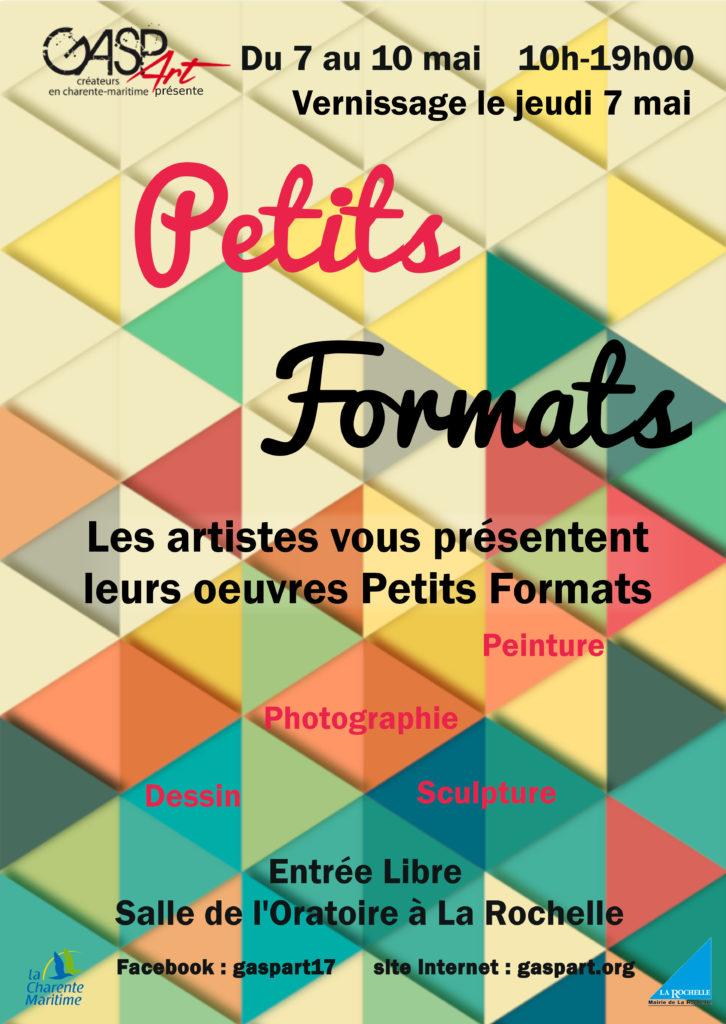 Petits formats asso gaspart artistes et créateurs en Charente-Maritime